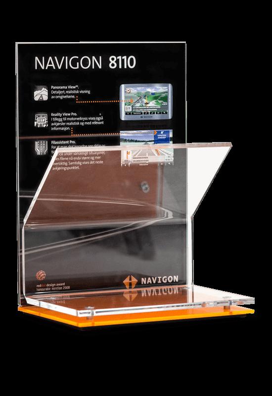 Navigon Verkaufsdisplay