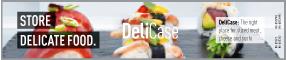 Panasonic Kühlschrank Sticker Deli Case