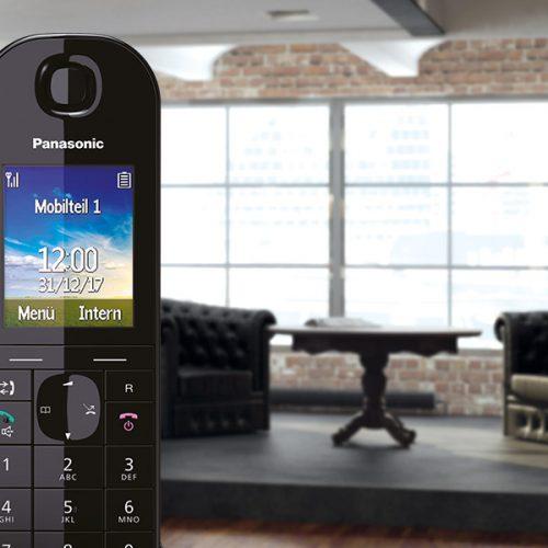 HTML5-Banner für IP-Telefone von Panasonic wird abgespielt