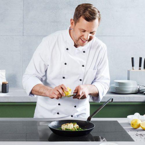 HTML5-Banner für Kücheneinbaugeräte von Panasonic wird abgespielt